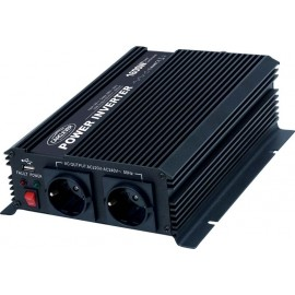 měnič DC-AC 12/220V 1600W, USB
